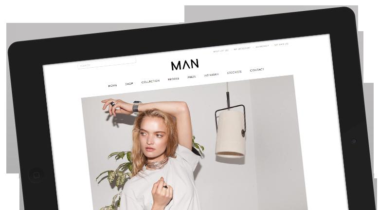 Jewellery Website Design.