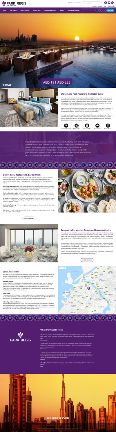 Kris Kin Hotel - Dubai